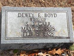 Dewey Elizabeth <i>Boyd</i> Carr