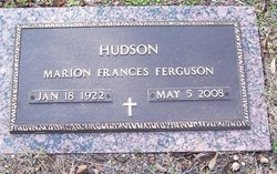 Marion Frances <i>Ferguson</i> Hudson