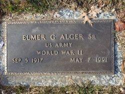 Elmer Godfrey Alger, Sr
