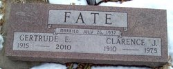 Clarence James Fate