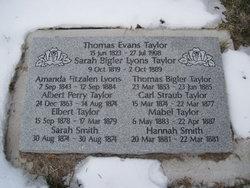 Sarah <i>Bigler</i> Lyons Taylor
