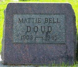 Mattie Elizabeth <i>Bell</i> Doud