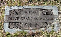 Olive <i>Spencer</i> Alford
