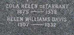 Helen <i>Williams</i> Davis