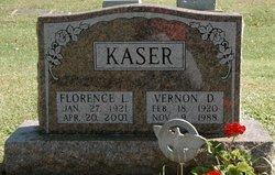 Florence L. <i>Vernon</i> Kaser