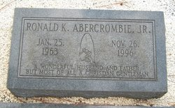 Ronald K Abercrombie, Jr