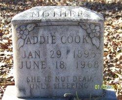 Addie <i>Arnold</i> Cook
