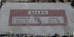 Alice E <i>Loney</i> Allen