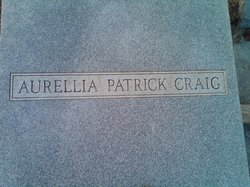 Aurellia <i>Patrick</i> Craig