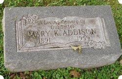 Mary Kassandra <i>Larimore</i> Addison
