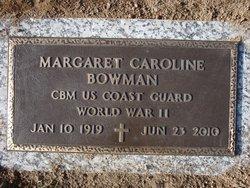 Margaret Caroline <i>Wagner</i> Bowman