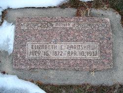 Elizabeth Eliza <i>Edwards</i> Earnshaw