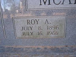 Roy Alexander McAliley