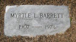 Myrtle L. <i>Bettis</i> Barrett