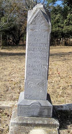Charlotte <i>Lamprecht</i> Albrecht