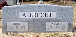 Cassie V <i>Taylor</i> Albrecht