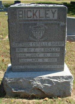 Gertrude Estelle <i>Sharp</i> Bickley