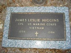Corp James Leslie Higgins