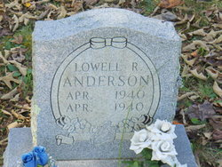 Lowell R Anderson