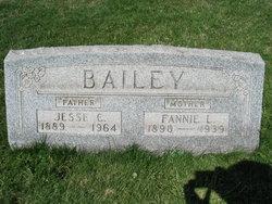 Francis Laura Fannie <i>Bigler</i> Bailey