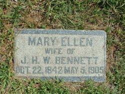 Mary Ellen Nellie <i>Uhl</i> Bennett