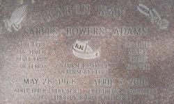 Karen Kay <i>Sarlls</i> Adams
