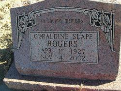 Geraldine <i>Slape</i> Rogers