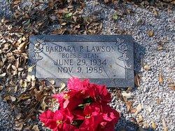 Barbara Bobbie Jean <i>Porter</i> Lawson