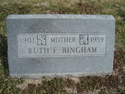 Ruth F Bingham