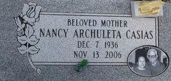 Mary Nancy <i>Archuleta</i> Casias