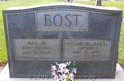 Mollie Rebecca <i>Barbee</i> Bost