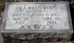 Lila <i>Wills</i> DuBay