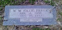 Walter Weldon Ollie Frank