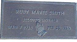 Ruby Marie <i>Majors</i> Smith