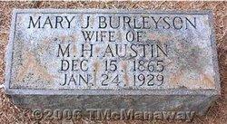 Mary J <i>Burleyson</i> Austin