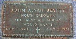 John Alvah Beatty