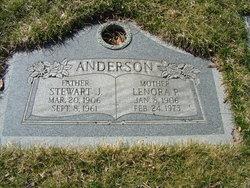Lenora Virgina <i>Pedersen</i> Anderson