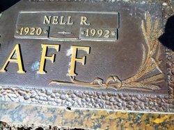 Flora Nell <i>Renfrow</i> Wagstaff
