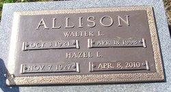 Hazel Lucille <i>Frantz</i> Allison