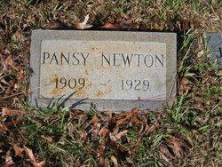 Pansy <i>Dykes</i> Newton