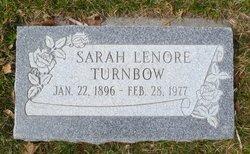Sarah Lenore <i>Woodruff</i> Turnbow