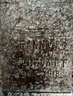 Ann Frances Fannie <i>Smith</i> Prevatt