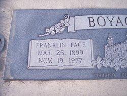 Franklin Pace Boyack