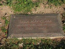 Lydia May <i>Taylor</i> Trabue Clark