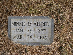 Minnie <i>Martindale</i> Allred