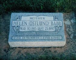Helen May <i>Ostlund</i> Babb
