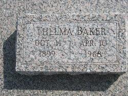 Thelma Theresa <i>Pickens</i> Baker