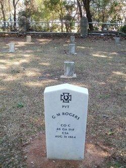Pvt G. M. Rogers