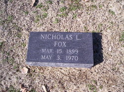 Nicholas Louis Fox