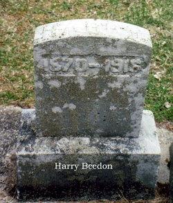 Harry W Beedon